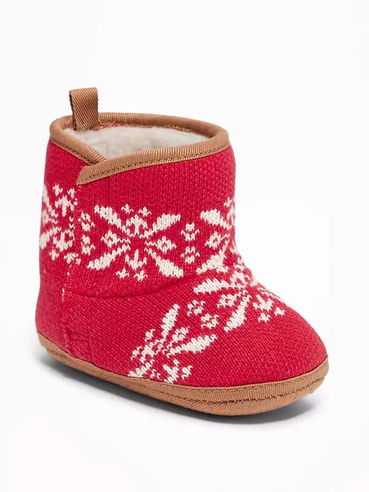 Fair Isle Booties