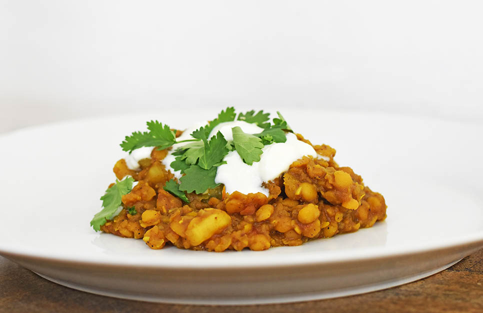 Vegan and gluten free dal.