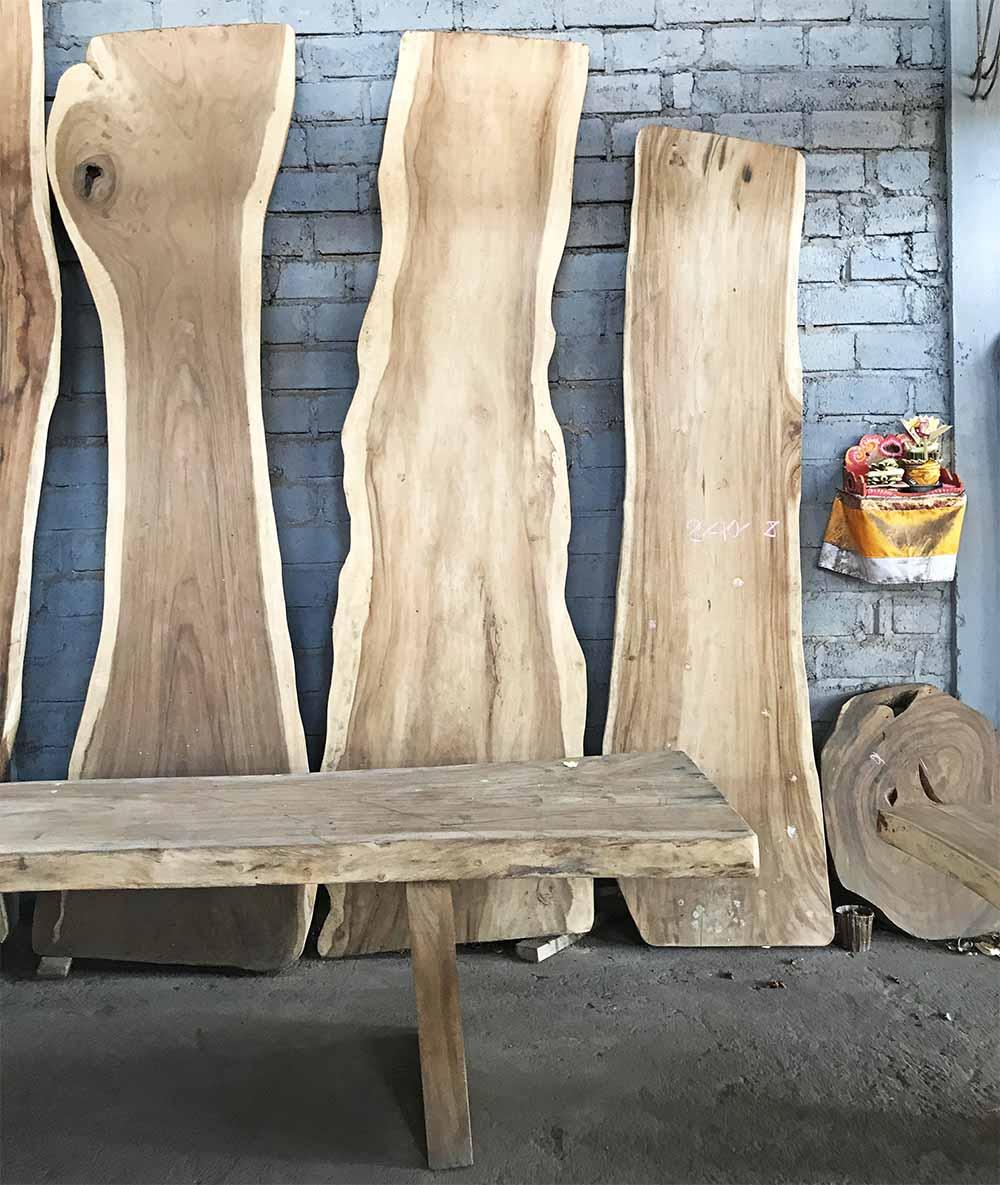 Amazing pieces of hardwood.