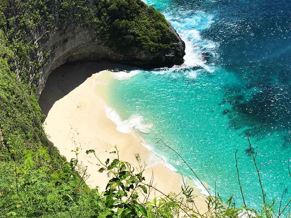 Klungkung beach.
