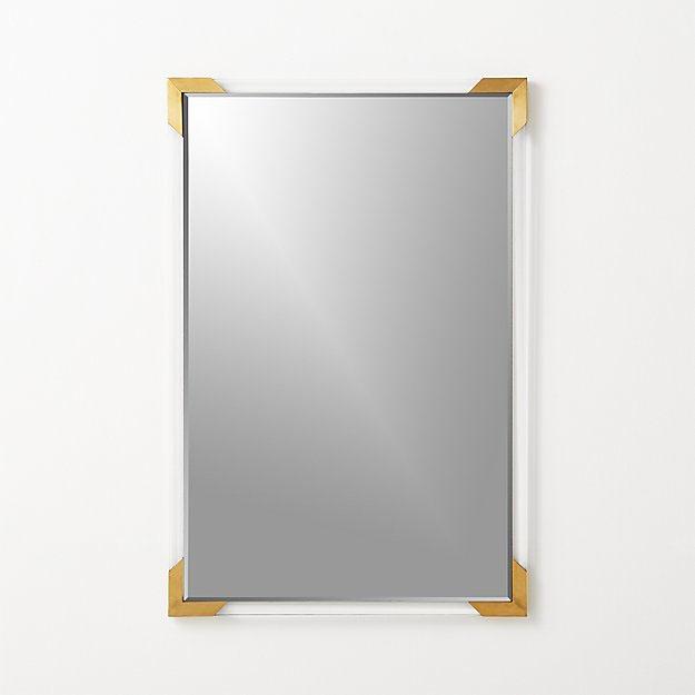 11. Acrylic & Brass