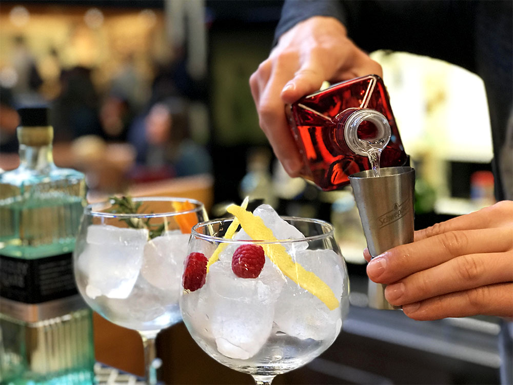 They take their Gin & Tonics very seriously in Lisbon, and these ones at a vendor in the Time Out Market were delicious!
