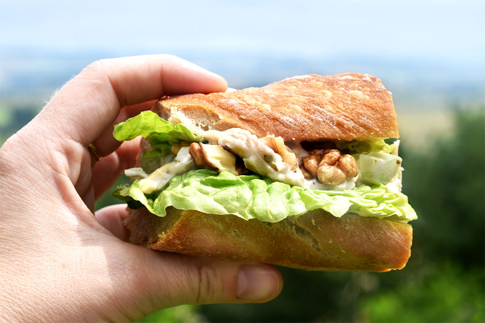 The most delicious chicken baguettes - perfect for parties, picnics, or lunchboxes.