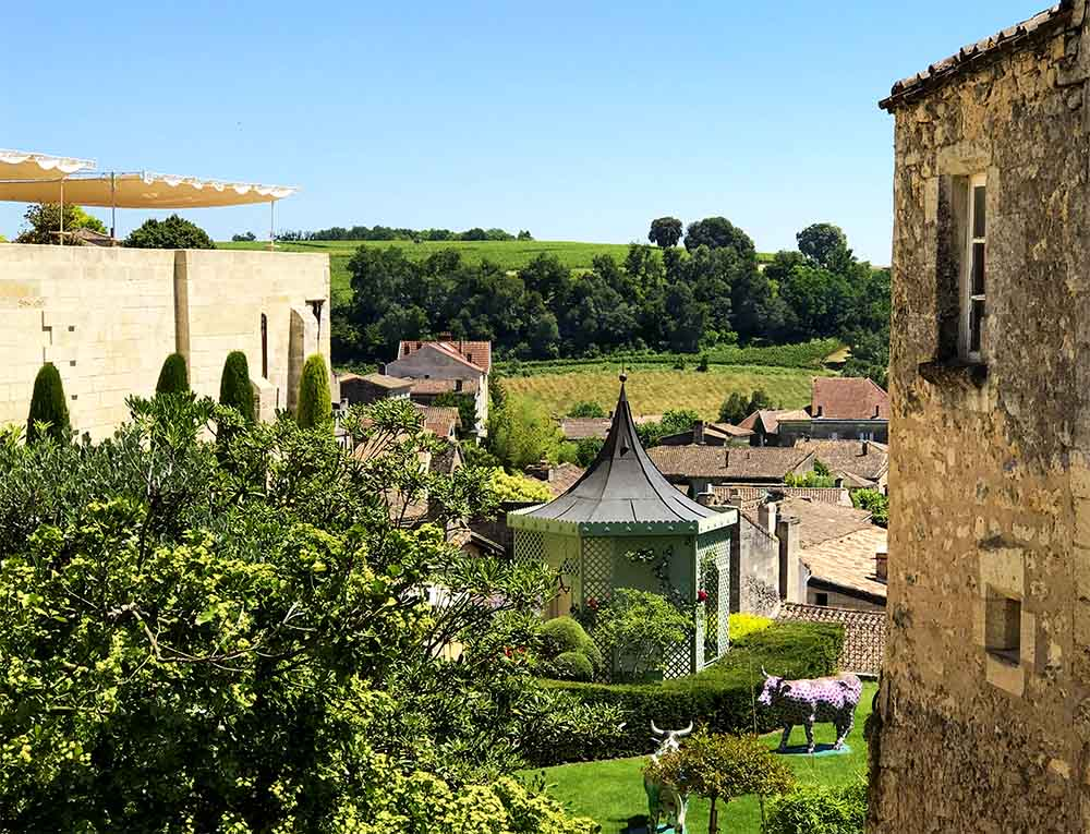 Views from the very pretty Medieval town of Saint Emilion.