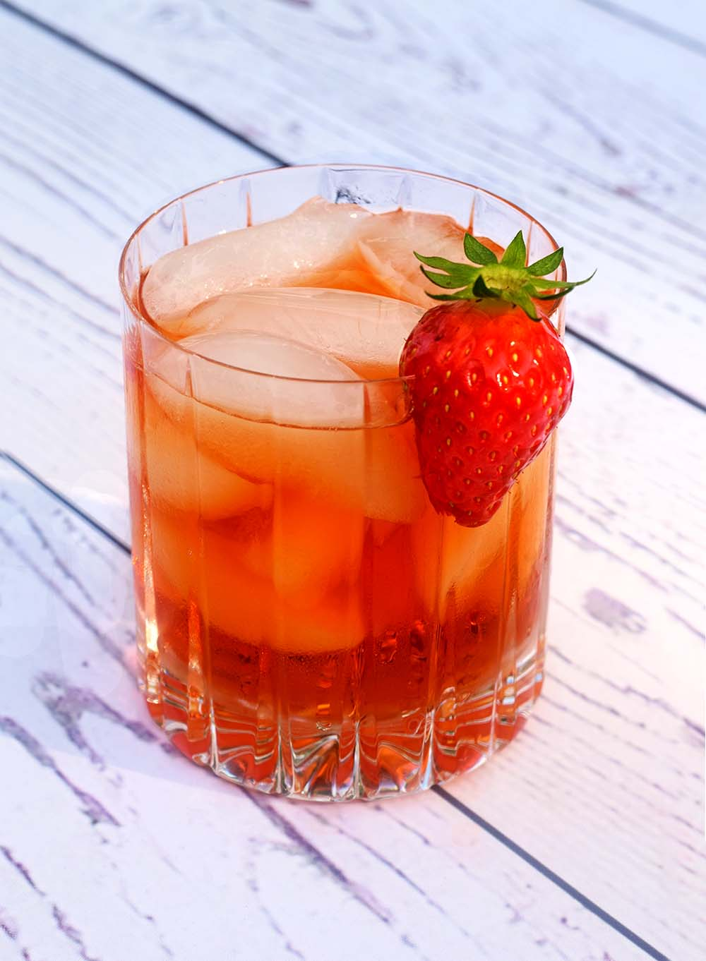 This  Strawberry Negroni  is another winner for a warm summer's evening.