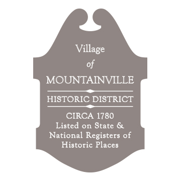 Mountainville Road Marker