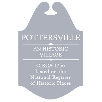 Pottersville Road Marker