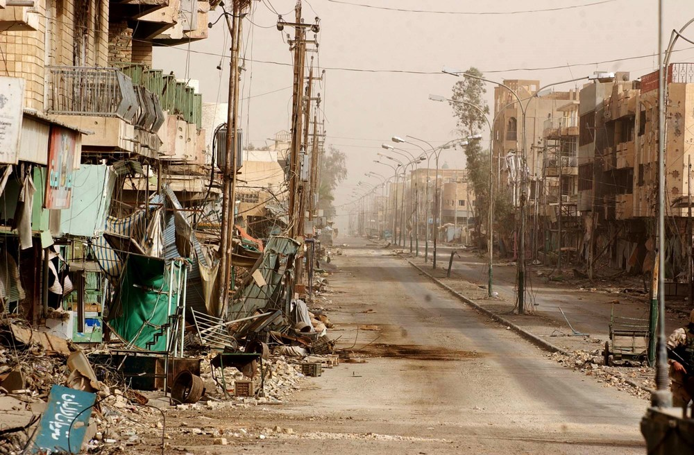 A typical street in Fallujah, after the fighting.jpg