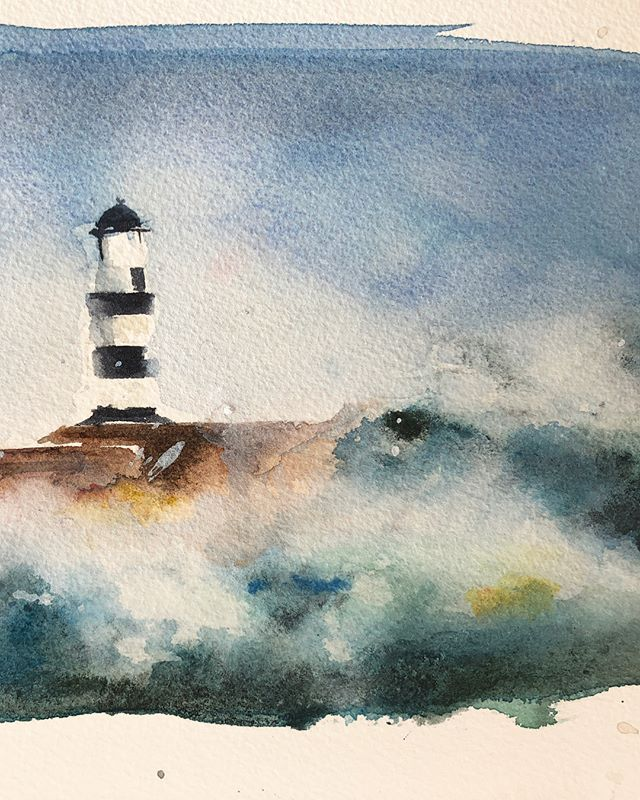 It's not too late to sign up for my next session of watercolor classes! Tuesday's from 4-6 or Friday's from 9-11am.  Link in bio for more info