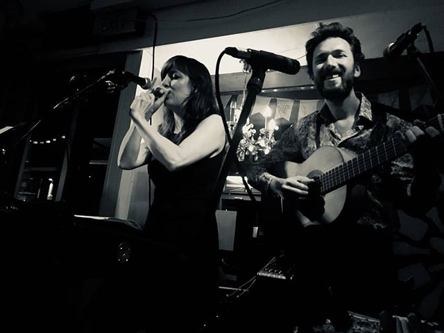Great gig tonight @kaffeekra !! #toomanymonkeys #band #duo #music #folk #pop #looppedal #kaffeekra #switzerland #blackandwhite #photography