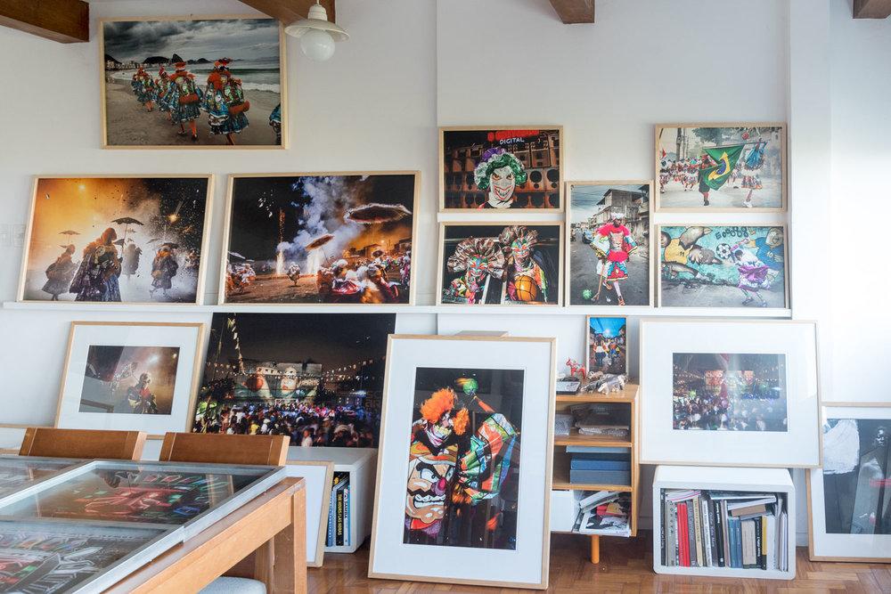 Vincent Rosenblatt Workspace in Glória district, Rio de Janeiro