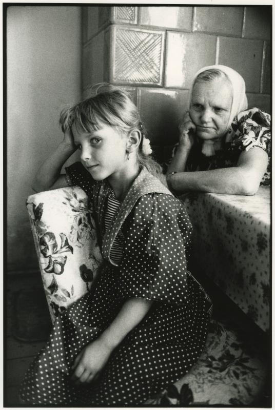 Un village en Pologne. / Wies Ukradzione Pamieci 1989.