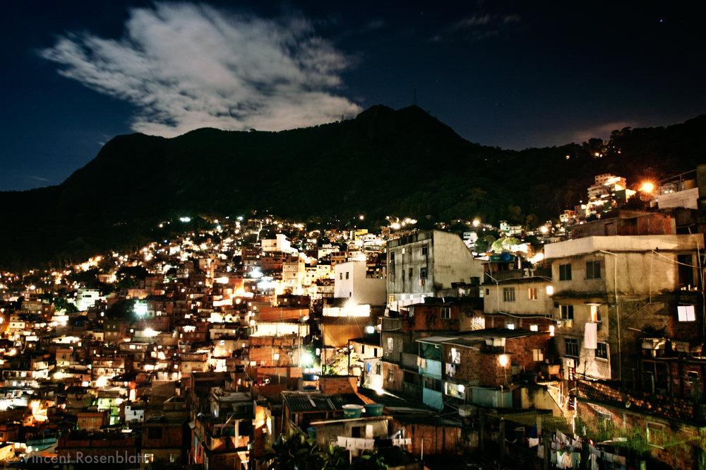 Rocinha, Rio de Janeiro 2007. The biggest slum in Rio, located in the heart of the city's richest areas : São Conrado, Gavea and Barra da Tijuca. There are at least 4 baile each weekend.