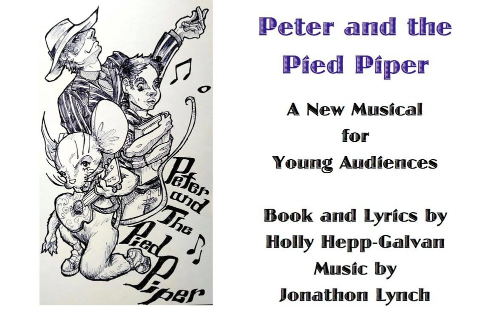 Peter and the Pied Piper - The Pied Piper is back in town and all the kids want to follow him. Peter, however, thinks they should stop and listen more closely the Piper's message. What exactly is he saying? Accompanied by Julius Cheeser, the last Rat in town, Peter goes on a dangerous quest to find the true meaning of this flashy trickster's words. Through rap music, ukulele ballads, and upbeat city rhythms, this new musical for elementary age children will have them laughing and cheering, while they also question who should be followed and who should not.