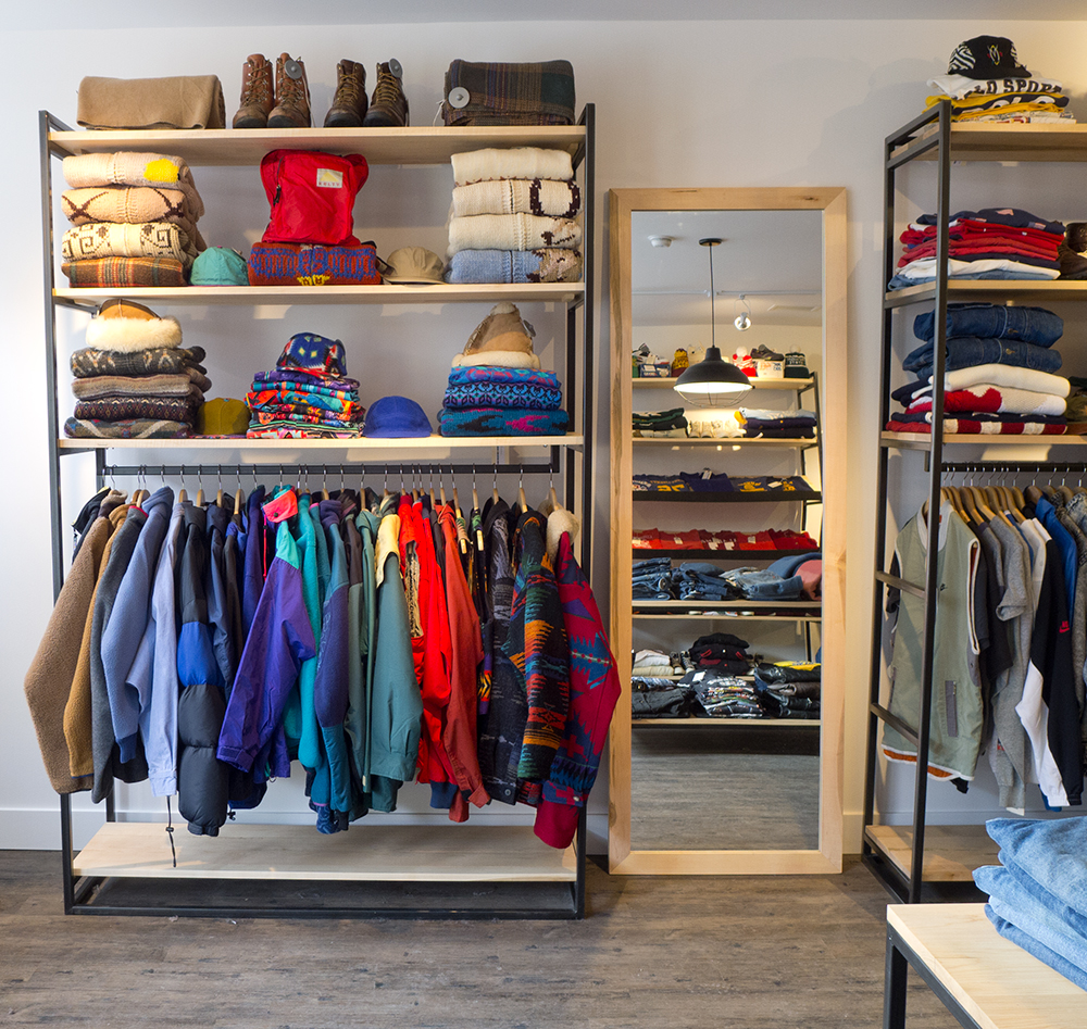 Modular Retail Shelving + Racking