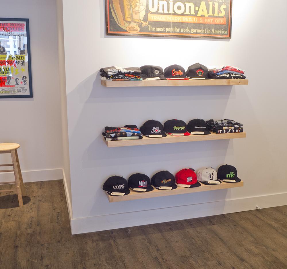 Custom Floating Shelves