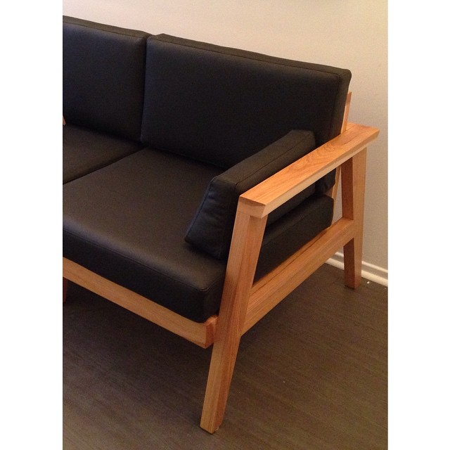 Another view of the Nathan Sofa. Can't wait to get some proper photos of this. #upper751 #todo15 #todo2015 #designweek