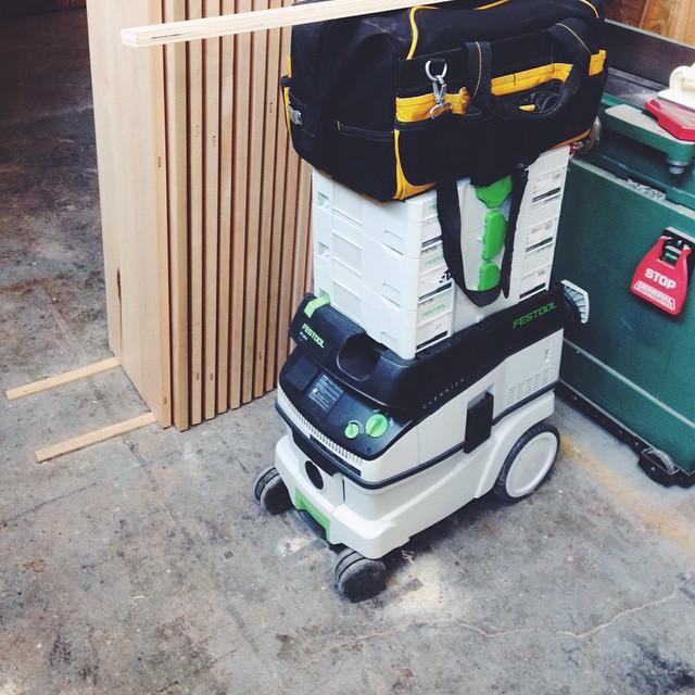 R2D2 is ready to go install. #festool