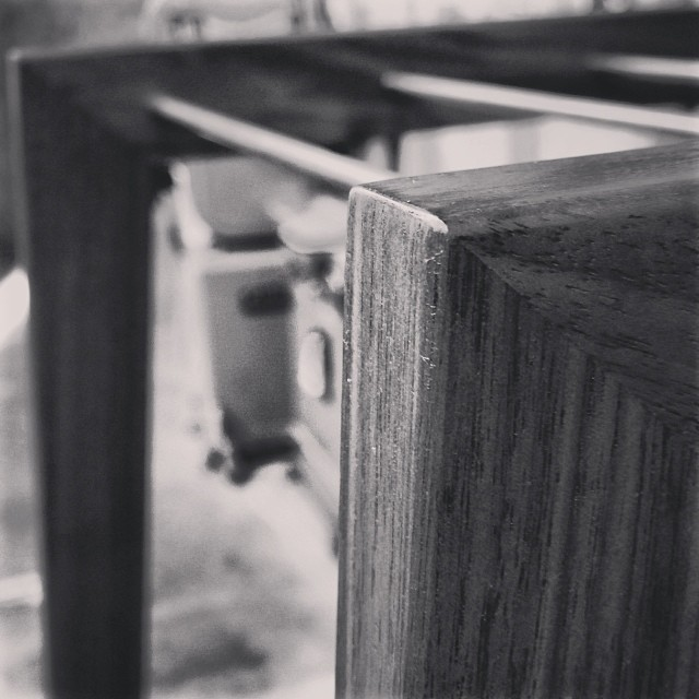 A little peek at one of my pieces for #todo14 at #upper751. #woodworking #handmade #furniture #Toronto