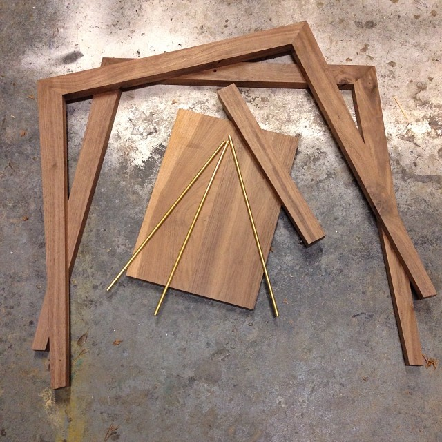 Bits and pieces. #todo14 #upper751 #woodworking #furnituredesign
