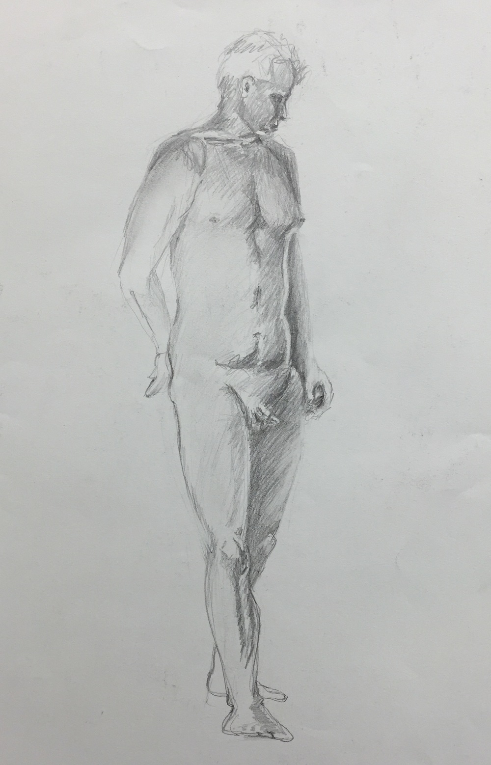 Male Standing Figure Study