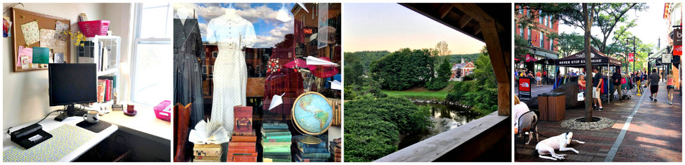 My office and other favorite sites around Willows East, Montpelier, Vermont