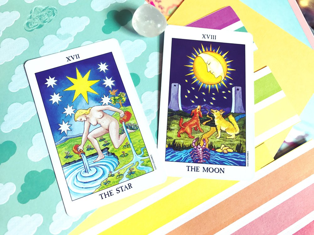 The Star and The Moon, Radiant Rider Waite Deck