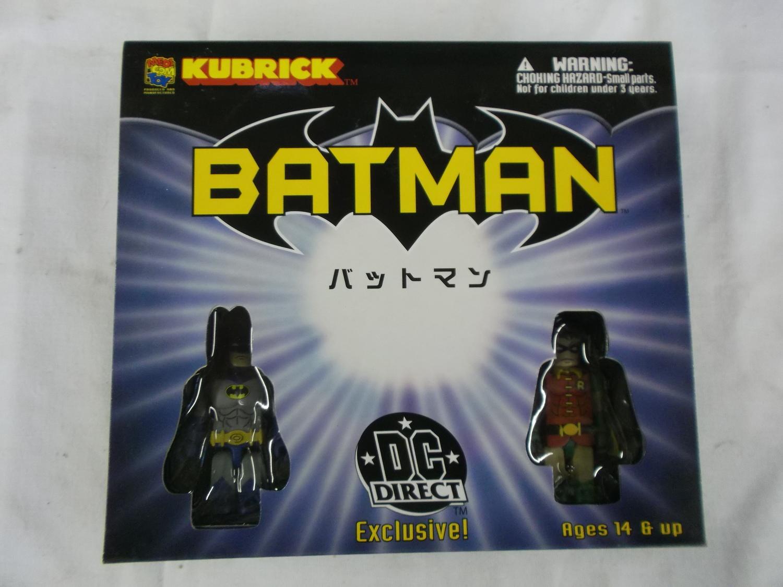 Mr.Freeze Scarecrow Batman Batgirl Kubrick Dc Direkt Exclusiv 5 Figur Set