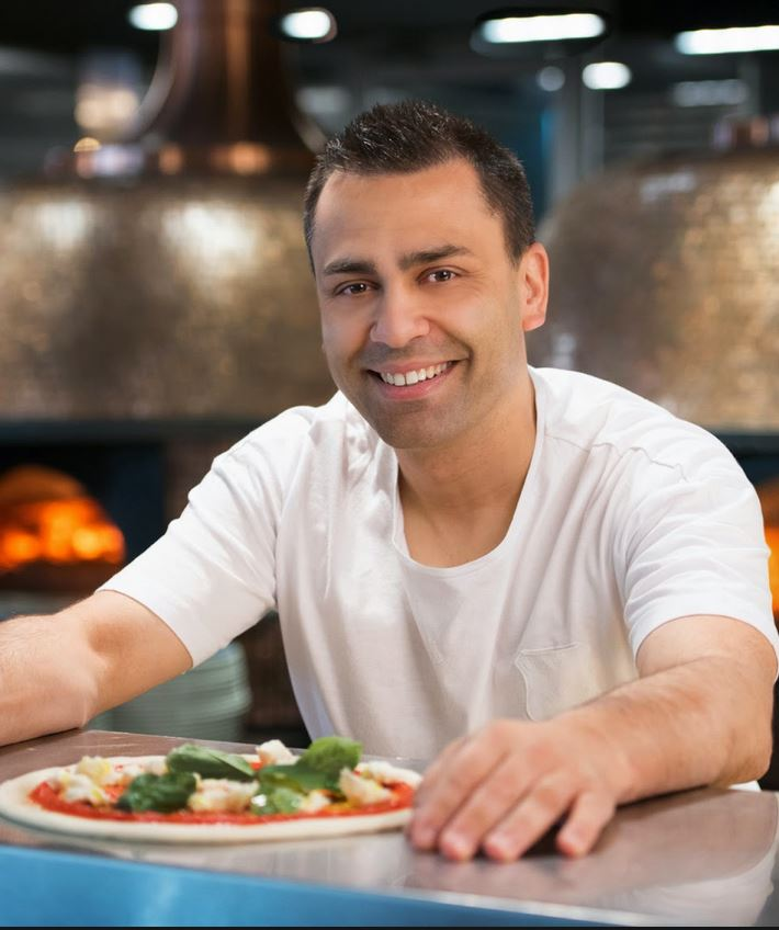 johnny di francesco  Pizzaiolo, Chef, Restaurateur 400 gradi