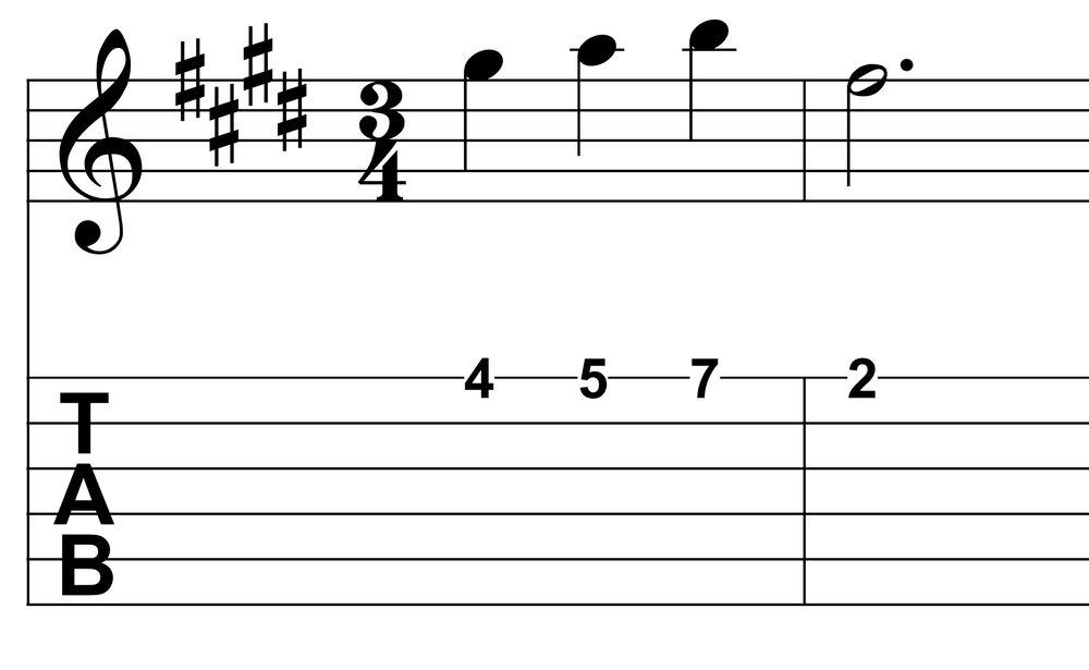 Lagrima Example 1 Melody.jpg