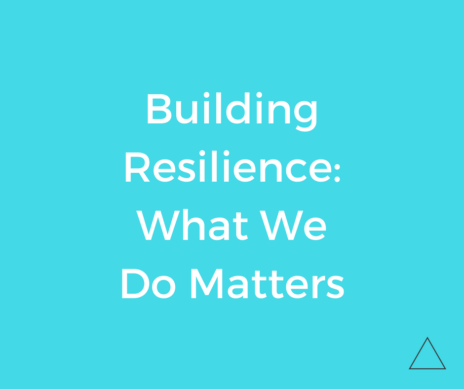 Building resilience: What we do matters - Shift Your Thinking LD