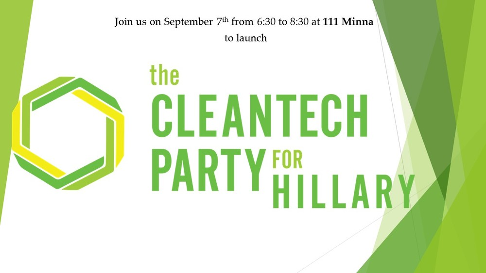 Cleantech Party for Hillary Sept 7 San Francisco Launch Event .jpg