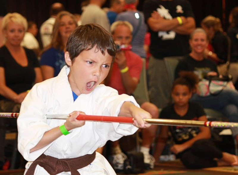 AK Classic Karate Tournament - Weapons