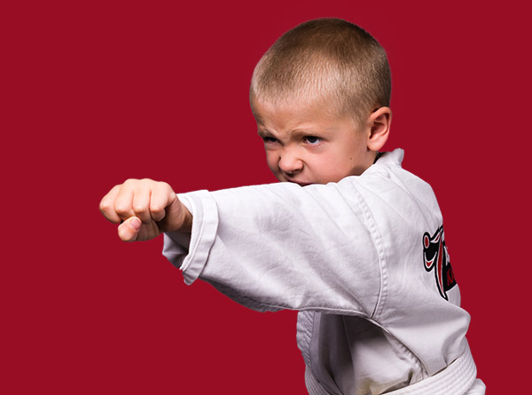 American Karate Ninjas Karate Student