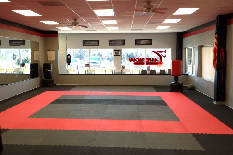 American Karate dojo and training facility