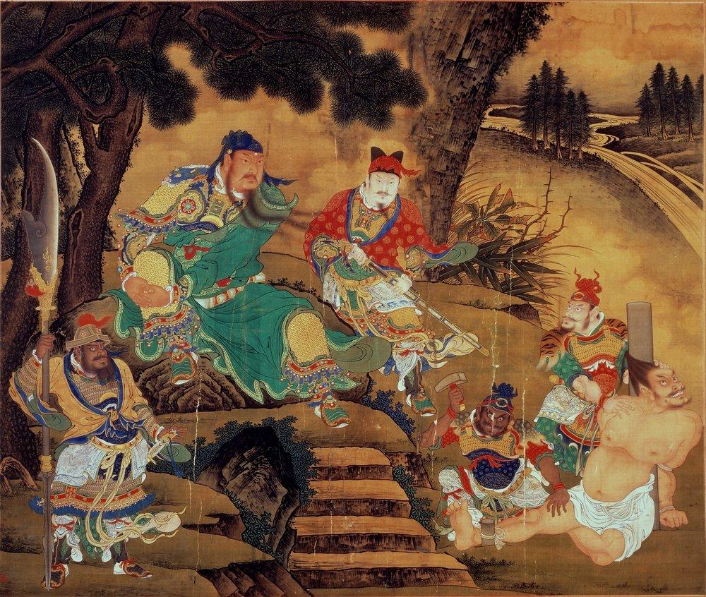 SHANG XI, Guan Yu Captures General Pang De, Ming dynasty, ca. 1430.