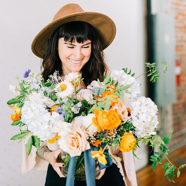 This is 27!  Here's to another year filled with beautiful flowers and even more beautiful people coming into my life and trusting me to create magic for them. I can't wait to see what this year around the sun brings.  Photo: @laurafordphotos