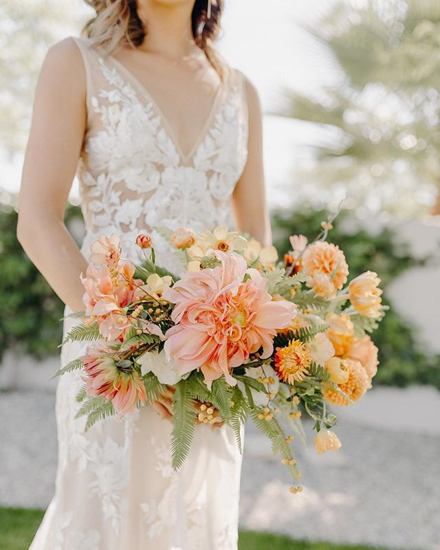 So much orange sherbet goodness for your rainy LA day.  Photo: @isaiahandtaylorphotography #wildmusefloral #jjfest2018
