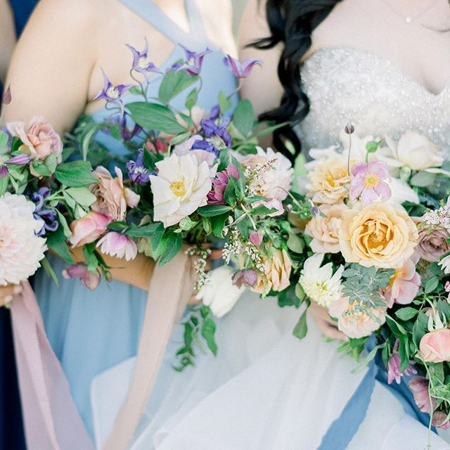 This lovely pastel wedding is up on @stylemepretty today! It was probably the hottest day in September but everything was so beautiful and special for Jessica and Erick's day.  Photo: @etherandsmith  Planning/Design: @lovinglyyoursweddings  Coordination: @mo_to_love  Ribbon: @bellameribbon @tonoandco  Roses: @gracerosefarm  Tap for more vendors! 💙