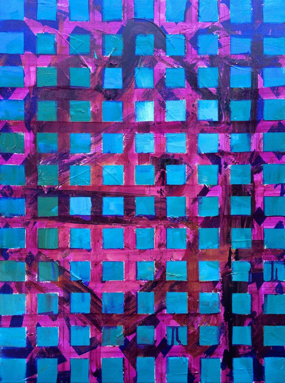 The Grid - 18 x 24