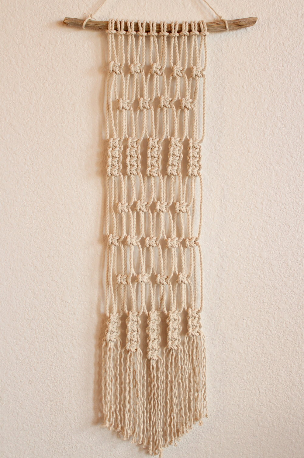 REEDS AND RUSHES MACRAME WALL HANGING