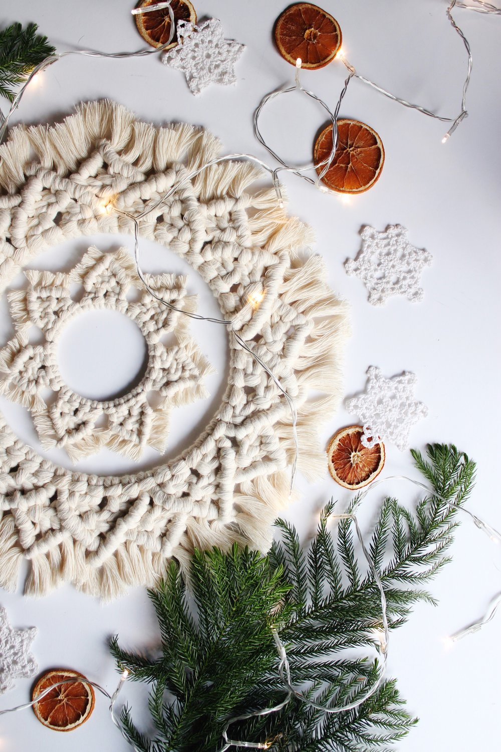 REJOICE - The wreaths in this collection offer a minimalist beauty that won't compete for visual balance. But they are striking enough to hold their own in any vignette. I think they look just as gorgeous against a crisp white wall as they do on deeply colored front door.