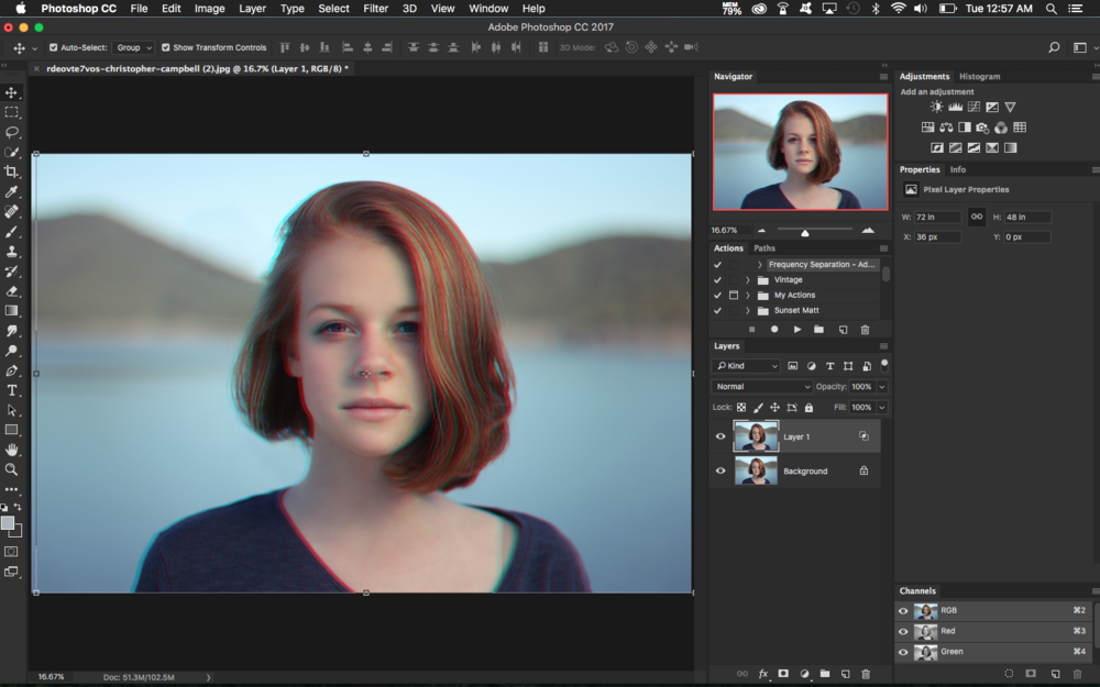 How to Create a 3D Effect in Photoshop | Retouching Blog