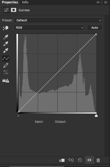 Curves Adjustment Layer in Adobe Photoshop