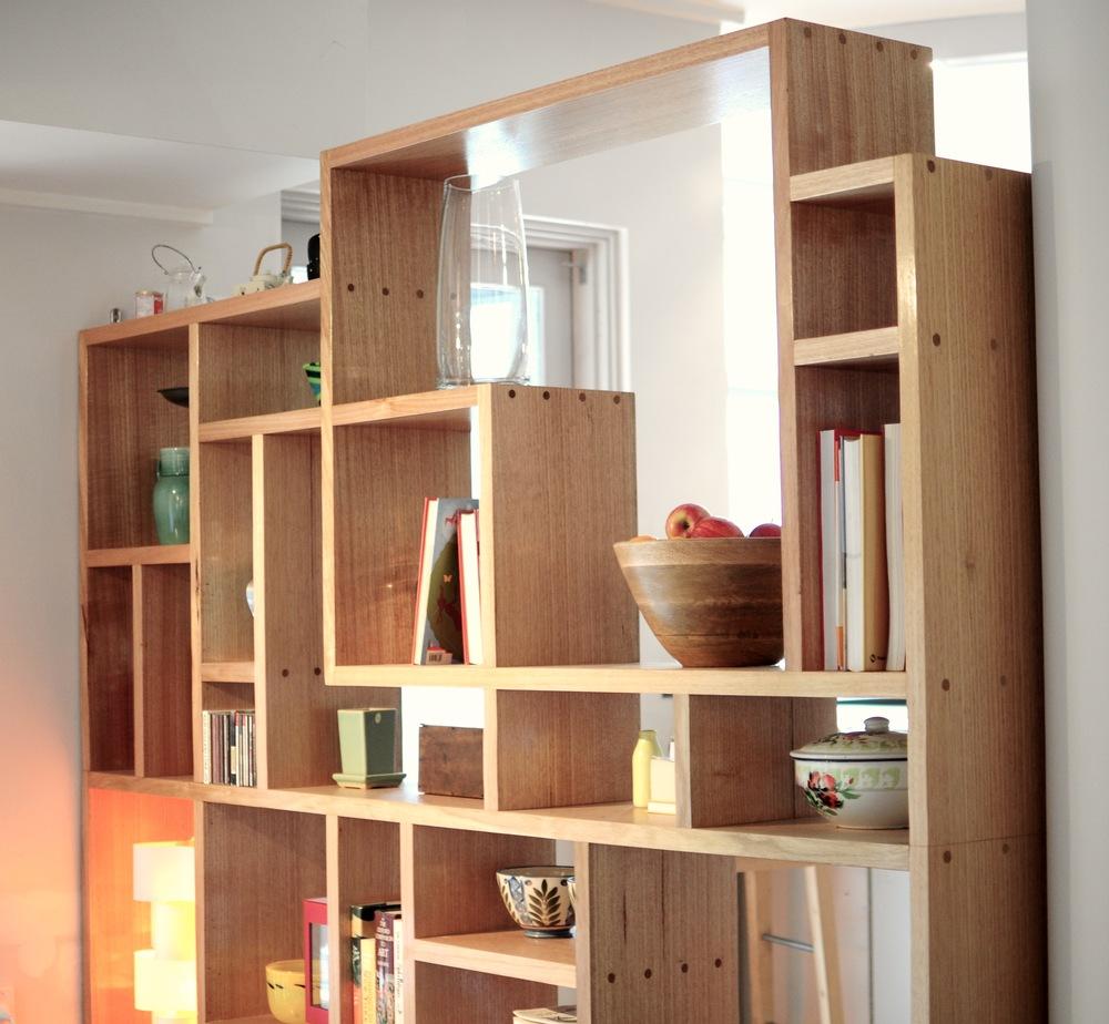 Tetris Shelf Douglas Fir Design