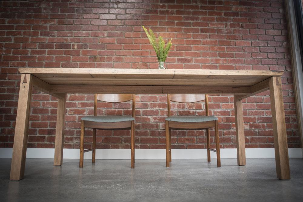 Big  custom timber table