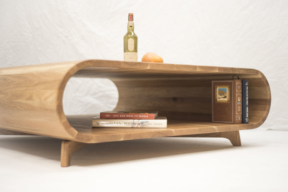 Hollow coffee table