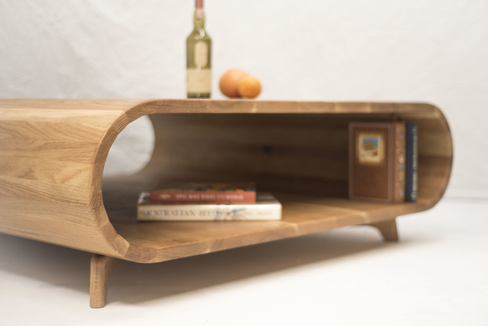 Wooden Tube Table