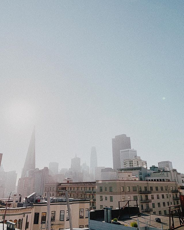 Just a hazy little SF morn'.
