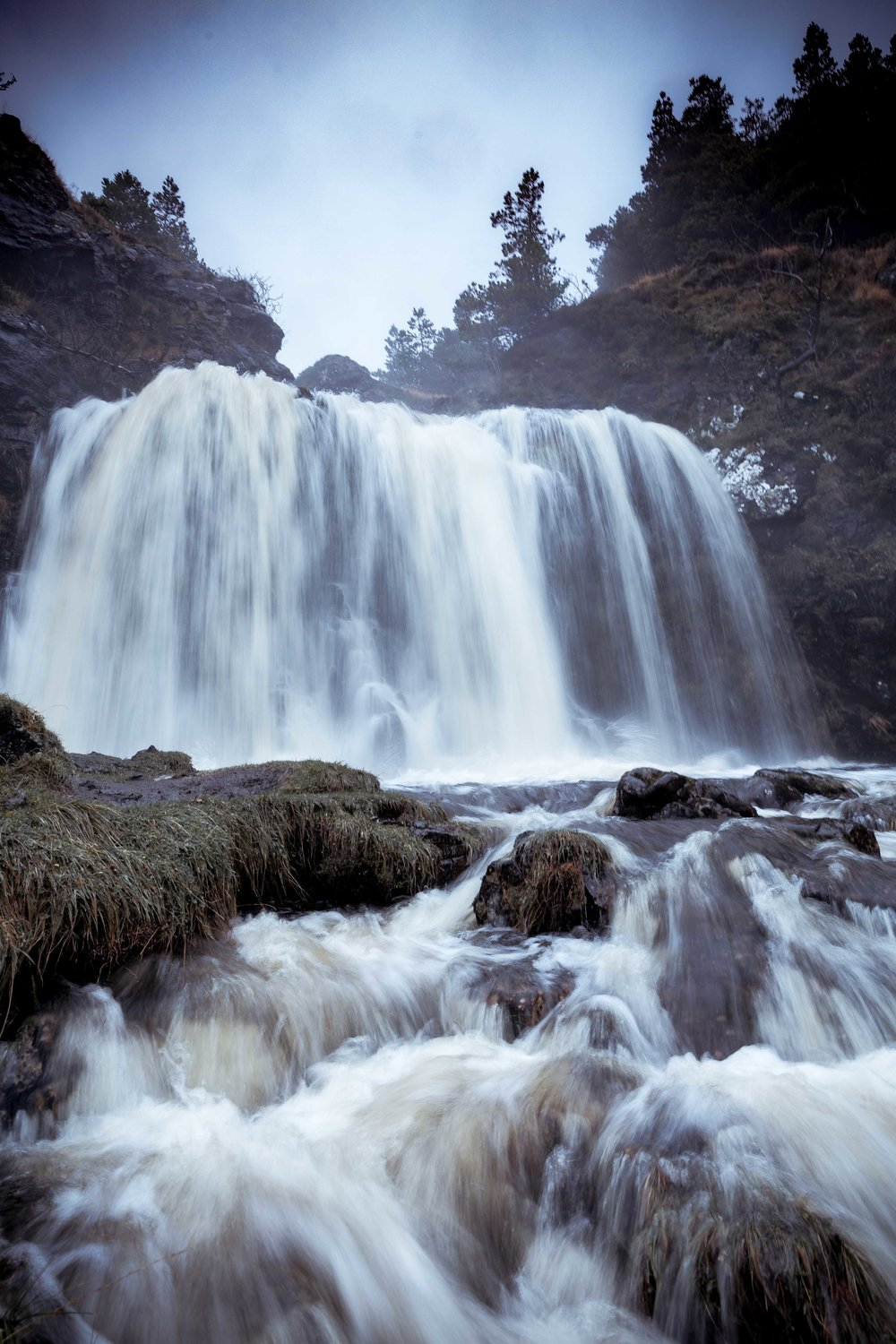 November: Waterfall on the Isle of Skye.